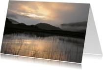 Condoleancekaarten - Condoleance Zonlicht door mist
