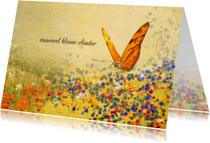 Condoleancekaarten - Condoleancekaart bloemenveld
