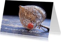 Condoleancekaarten - Condoleancekaart - Lichaam en ziel-lampionnetje