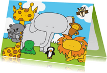 Dierenkaarten - Dierenkaart Dierentuin