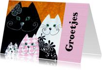 Dierenkaarten - Dierenkaart katten