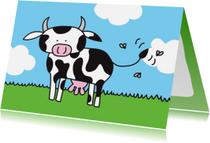 Dierenkaarten - Dierenkaart Koe