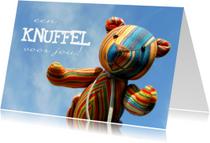Liefde kaarten - Dikke knuffels