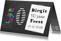 Uitnodigingen - Feest voor de 50 jarige