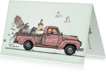 Felicitatiekaarten - Felicitatie trouwen pick-up - AV