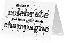 Felicitatiekaarten - Felicitatiekaart celebrate