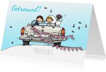Felicitatiekaarten - Felicitatiekaart huwelijk av