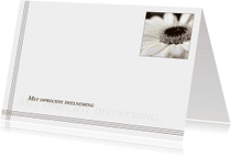 Condoleancekaarten - Gecondoleerd XXXIV