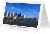 Vakantiekaarten - Groeten uit Rotterdam XIX