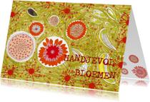Zomaar kaarten - handjevol bloemen