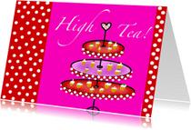 Uitnodigingen - High Tea II
