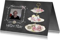 Uitnodigingen - High Tea standaard foto