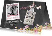 Uitnodigingen - housewarming foto