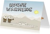 Uitnodigingen - Housewarming Iglo