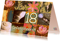 Verjaardagskaarten - In de bloei van je leven