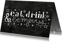 Kerstkaarten - Kerst Be merry