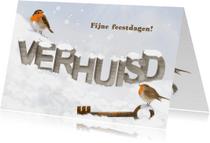 Verhuiskaarten - Kerst op ons nieuwe adres - 2