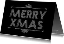 Kerstkaarten - Kerst Streepjes