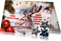 Kerstkaarten - Kerstkaart_ChristmasReindeer