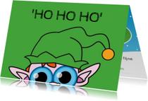 Kerstkaarten - Kerstkaart - Elf - MG