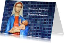 Kerstkaarten - Kerstkaart Maria met Jezus