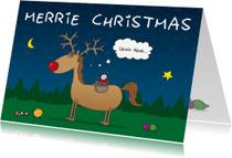 Kerstkaarten - Kerstkaart Merrie Christmas