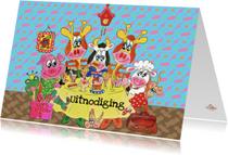 Kinderfeestjes - Kinderfeestje aan tafel PA