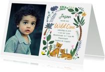 Kinderfeestjes - Kinderfeestje dieren tijgers 1 jaar