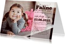 Kinderfeestjes - Kinderfeestje fotokaart