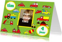 Kinderfeestjes - Kinderfeestje jongen auto foto leeftijd