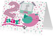 Kinderfeestjes - Kinderfeestje meisje 2 vogeltje