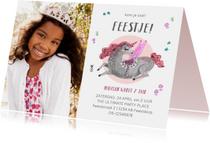 Kinderfeestjes - Kinderfeestje unicorn Pegasus paard