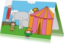 Kinderkaarten - Kinderkaart Circus