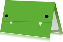 Kinderkaarten - Kinderkaart Monster