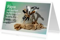 Vaderdag kaarten - Klusboeket voor Papa