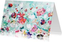 Kunstkaarten - Kunst schilderij print Tuin