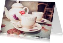 Uitnodigingen - let's have some tea