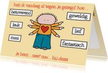 Liefde kaarten - Liefde Armen