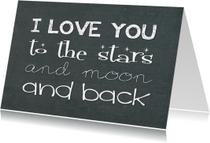 Liefde kaarten - Liefde kaart I love you 1