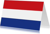 Zomaar kaarten - Maak een nederlandse vlag