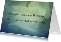 Spreukenkaarten - Magic excists