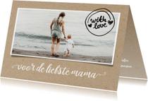 Moederdag kaarten - Moederdag - voor de liefste mama foto