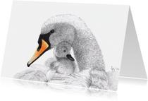 Kunstkaarten - 'Moederliefde 2'