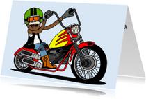 Geslaagd kaarten - Motorrijbewijs gehaald!