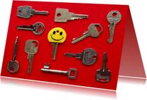 Verhuiskaarten - Nieuwe sleutel