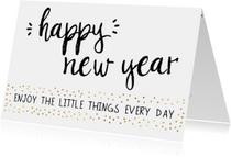 Nieuwjaarskaarten - Nieuwjaarskaart