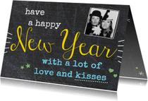 Nieuwjaarskaart have a happy New Year