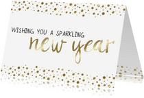 Nieuwjaarskaarten - Nieuwjaarskaart Sparkling - WW