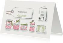 Nieuwjaarskaarten - Nieuwsjaarskaart wensen