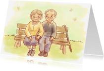 Jubileumkaarten - Nog lang en gelukkig